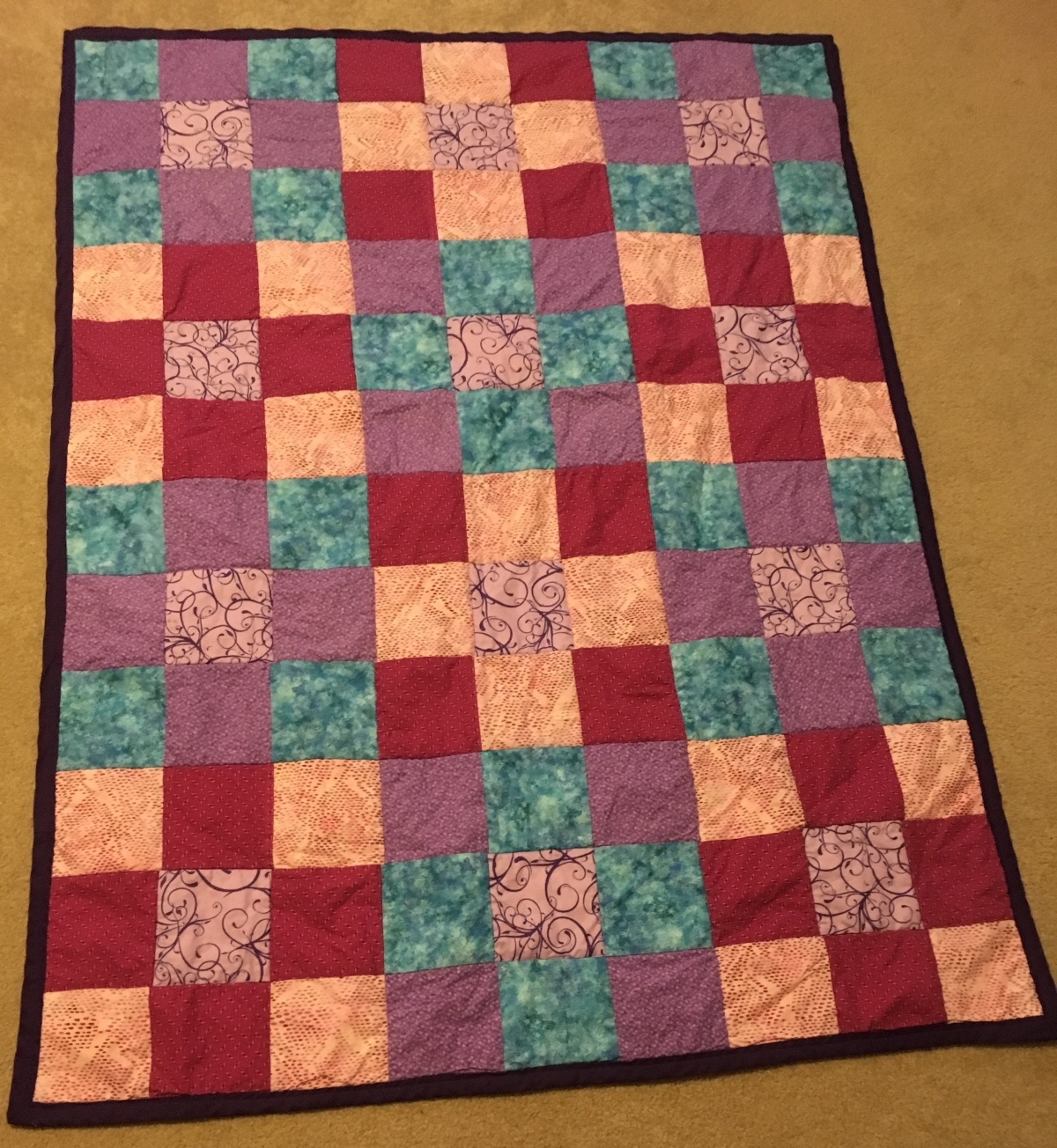 My First Quilt Rebeccas Memory Quilt